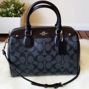 COACH SIGNATURE MINI BENNETT SATCHEL